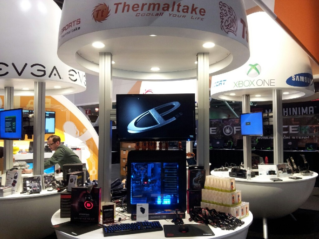 Image 1 _ Thermaltake and Tt eSPORTS at PAX East 2014