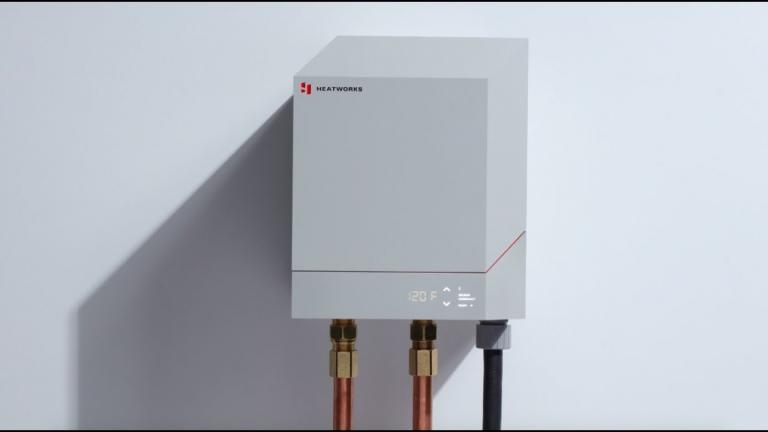 2b61e807ef Heatworks MODEL 3 Smart Water Heater Named Red Dot Product Design Award  Winner