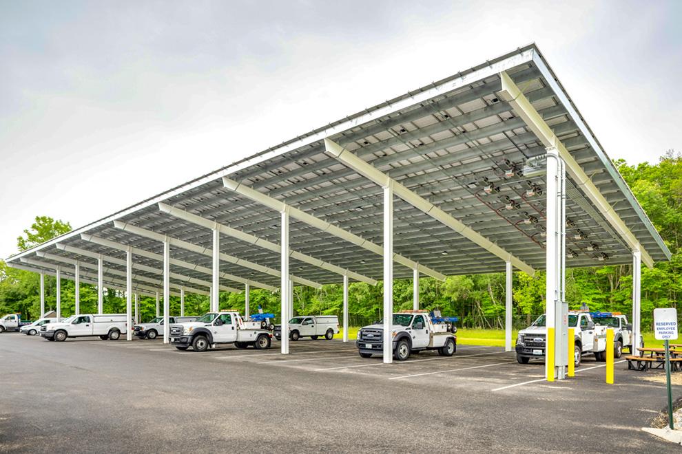 Protect Your Vehicle Fleet Baja Solar Carports Amp Standard