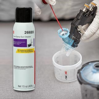 New 3m High Power Spray Gun Cleaner Delivers Faster Cleanup