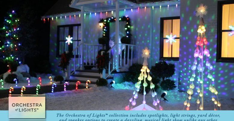 Customize Your Own Musical Light Show With Orchestra Of Lights